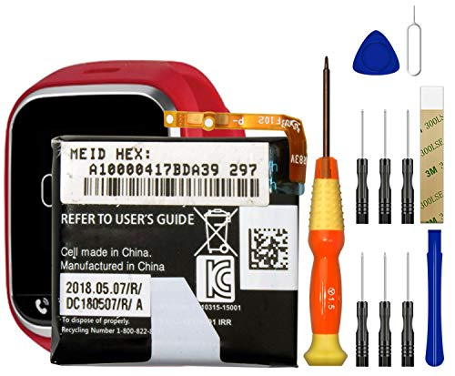Replacement Battery BL-S5 for Verizon Gizmo Gadget Smart Watch LG-VC200B Free Adhesive Tool