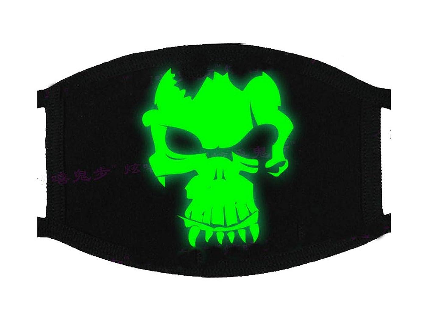 結核チャンス論争の的光沢のあるユニセックスコットンブレンドアンチダストフェイスマスク、ファニーパターンK2