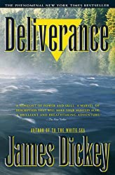"Cover of James Dickey's ""Deliverance."""