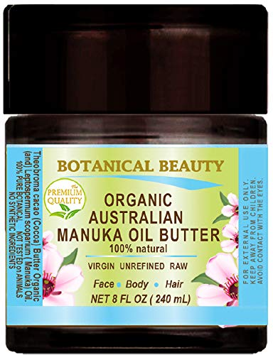 MANUKA OIL BUTTER Australian RAW VIRGIN UNREFINED for Face, Body,...