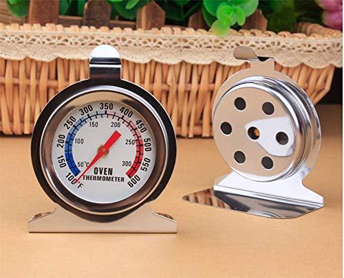 Thermomètre De Four En Acier Inoxydable Surveillance Du Four Avec Grand Affichage Clair Pour Les Cuisines Professionnelles Et Domestiques