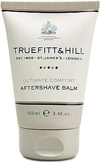 Truefitt & Hill Ultimate Comfort Aftershave Balm Travel Tube, 3.38 fl oz