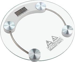 tempo di saldi Báscula electrónica digital de cristal con capacidad de 150 kg