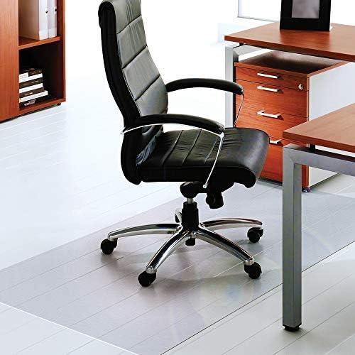 Floortex Polycarbonate XXL Office Mat 60 x 60 for Hard Floors Clear FR1215015019ER product image