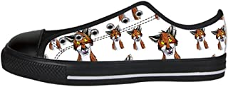 Dalliy Custom Fox Women's Canvas Shoes I Lacci delle Scarpe Scarpe Scarpe da Ginnastica Alto Tetto