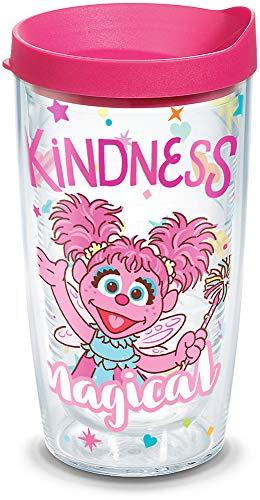 Tervis Copo isolado Sesame Street-Abby Cadabby Kindness Is Magical, 473 ml, transparente
