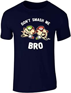 Don't Smash Me Bro Video Gaming Funny Graphic Tee T-Shirt for Men