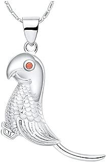 Sterling Silver Perroquet tropical Oiseau Charm//Pendentif