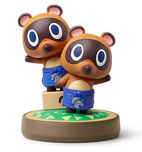 Amiibo Mamekichi & Tsubukichi / Timmy & Tommy - Animal Crossing series Ver. [Wii U][Importación Japonesa]