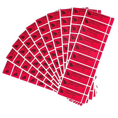 100 stücke Tamper Evident Sicherheit Aufkleber, Alleine Walker Sicherheit Verhindern Geöffnet Garantie Leere Etiketten (1