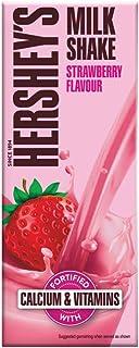 Hershey's Milkshake Straberry, 180ml - Pack of 6, x 180 ml