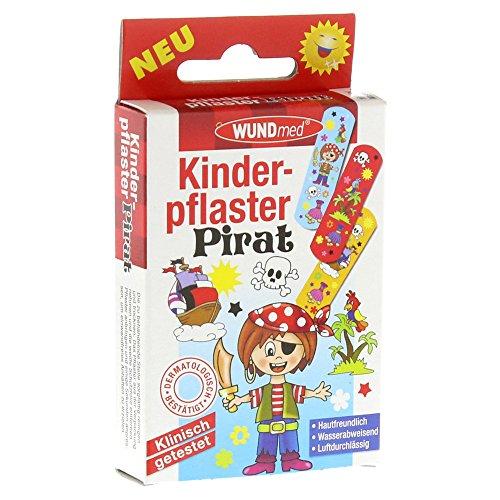 2´er Pack Wundmed Kinderpflaster Pirat 10 Stück (2*10 Stk.)
