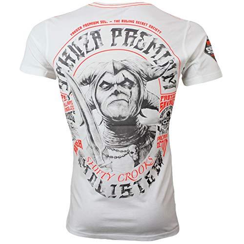 Yakuza Premium Herren T-Shirt 2905 Natur weiß Größe XXL