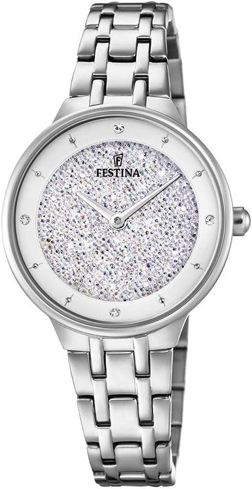 Festina mademoiselle orologio da donna in acciaio inossidabile F20382/1