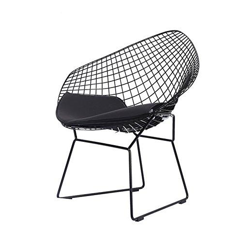 IAIZI Draht Stuhl modernen minimalistischen Persönlichkeit kreative Metall Schmiedeeisen Stuhl Home Restaurant Stuhl zurück