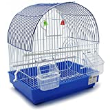 BPS Jaula para Pájaro Pajarera Periquito Canarios con Comed