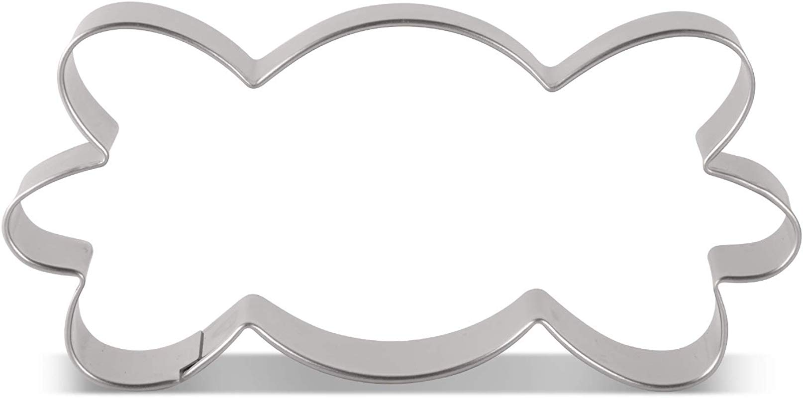 LILIAO Trick Or Treat Candy Cookie Cutter For Halloween 4 1 X 2 3 Inches Stainless Steel