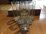 Juego de 6cristal Tubo a Whisky Grant Grants grant' S 22cl Neuf