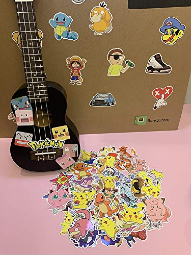 Pokemon Koffer Stickers Pokemon Pokémon Laptop Gitaar Cartoon Stickers 80 Vellen