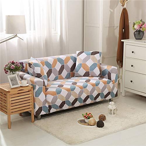 WXQY Sala de Estar Cubierta de sofá elástica con Todo Incluido Cubierta de sofá de celosía elástica Cubierta de sofá de sofá Inferior Cubierta de sofá A2 3 plazas