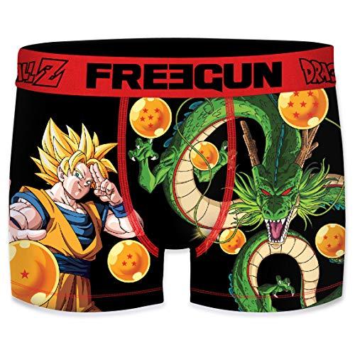 FREEGUN Boxer Homme Dragon Ball Z Goku & Shenron (S)