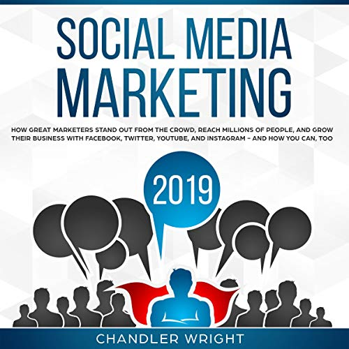 Social Media Marketing 2019 audiobook cover art