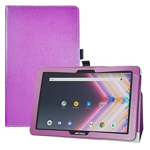 LFDZ Archos Core 101 3G Ultra hülle,Schutzhülle mit Hochwertiges PU Leder Tasche Case für 10.1