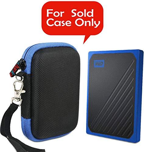 Khanka Hart tasche case für Western Digital WD My Passport Go Portable 500GB /1TB /2TB SSD Festplatte.
