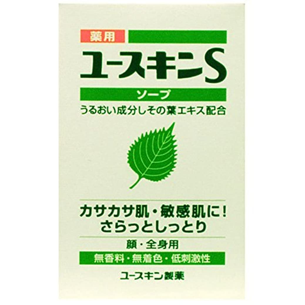 道マーキング採用薬用ユースキンSソープ 90g×6個