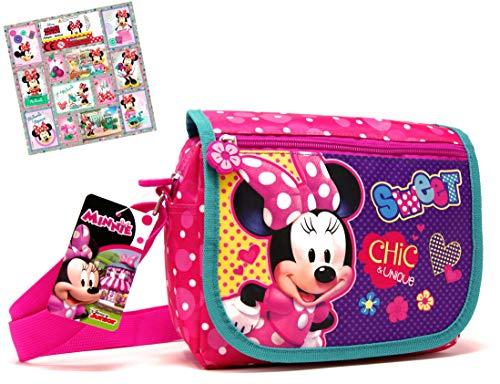 Disney MINNIE MOUSE 20497-2100 Kindertasche Pink UMHÄNGETASCHE KINDERGARTEN Bag