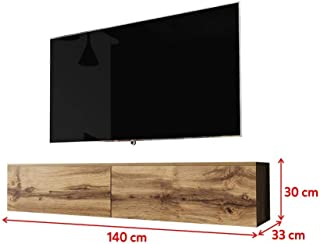 Selsey Mueble para televisión Madera de Roble Wotan 140 cm