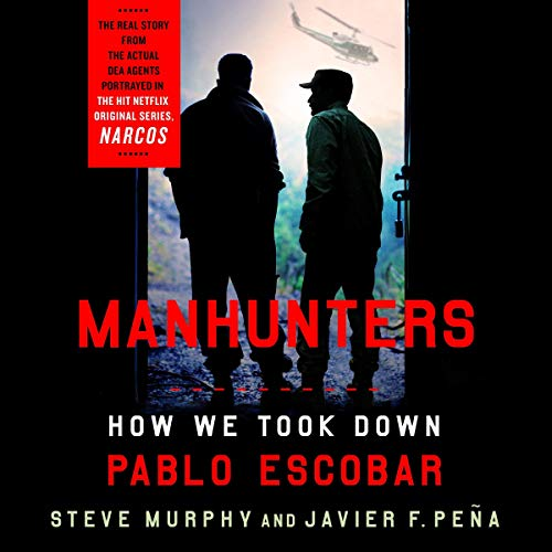 Manhunters audiobook cover art