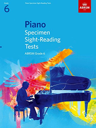 Piano Specimen Sight-Reading Tests, Grade 6 (ABRSM Sight-reading)