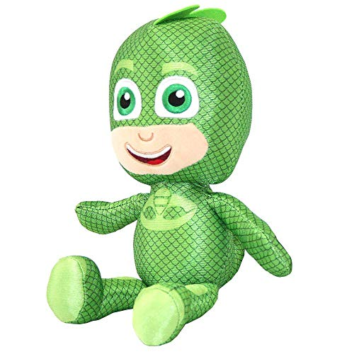 PJ Masks pluche figuren pyjamahelden 35 cm voor kinderen (Gekko)
