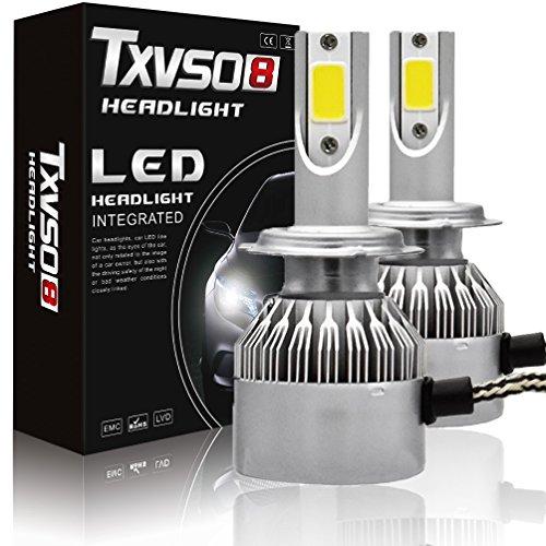 Fenghezhanouzhou Ampoules antibrouillard H7 LED - 6000K Blanc Brillant 4600 LM (Paquet de 2)
