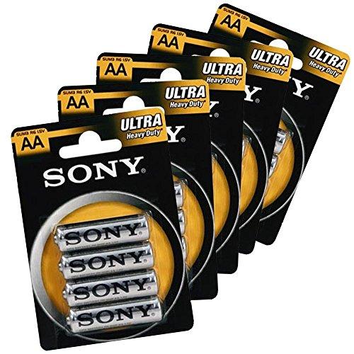 Sony Pack da 32 Stilo New Ultra Formato AA R6 1.5V Zinco Carbone .MWS