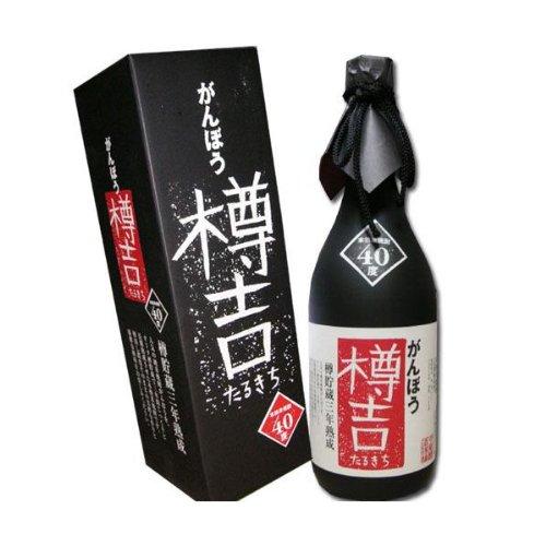 【米焼酎】がんぼう樽吉(たるきち)40度 720ml