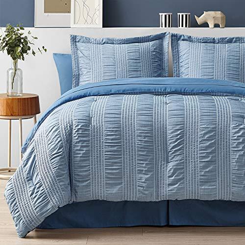Bedsure Queen Comforter Set 8 Pi...