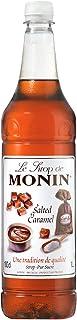 Monin Salted Caramel Syrup 1 Litre & Monin Pump