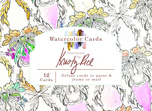 Watercolor Cards: Illustrations by Kristy Rice (Artisan Series)