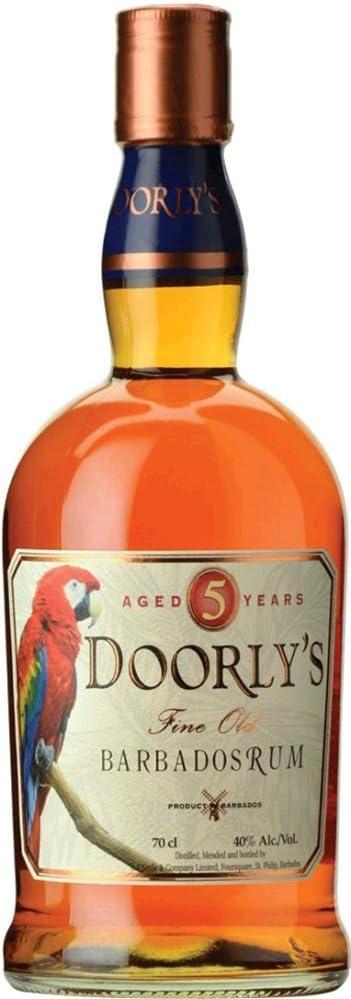 Doorlys DoorlyS 5 Years Old Fine Old Barbados Rum 40% Vol. 0,7L - 700 ml