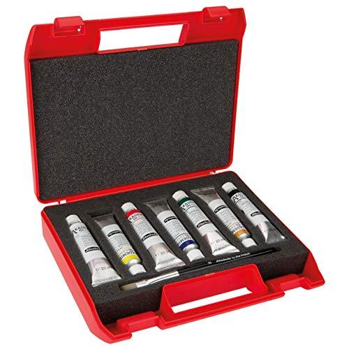 Schmincke Akademie Öl Kunststoff-Kasten mit 7X 20 ml Tuben 79 712 097