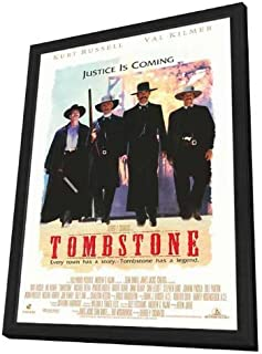 Movie Posters Tombstone - 27 x 40 Framed
