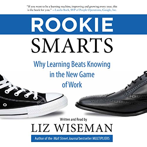 Rookie Smarts audiobook cover art