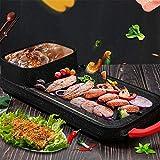 Zhang Elektrischer Grill Indoor Hot Pot, Home Cooker Bratpfanne Mehrzweck Korean Barbecue Hot