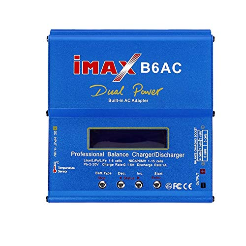 Adaptador Dc Para Enchufar Profesional Imax B6ac Inteligente Compacto Del Cargador Del Balance/Descargador De Estados Unidos T Ranuras Ac