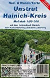 Unstrut-Hainich-Kreis: Rad- und Wanderkarte (Reiß- und wetterfest)