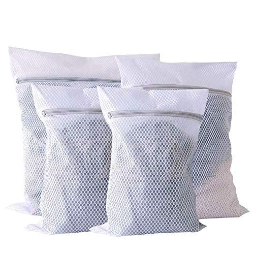 You 4 Stück Wäschenetze Waeschesack Waschmaschine Wäschebeutel Wäschesack für Empfindliches, Bluse, Schuhe, BH, Unterwäsche, Babykleidung