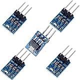 ARCELI 5 Confezione da 3 Pin AMS1117-3.3 CC Da 4,75 V-12V a 3,3 V Regolatore di tensione Step-down Alimentatore Modulo da 800mA