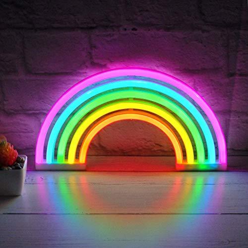 Letrero de luz LED de neón de alta calidad para dormitorio, lámpara de pared para habitación de bebé, The Glowhouse UK